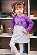 Платье теплое для девочки Rock Star, фото 3