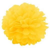 Помпон 20 см Желтый