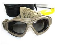 Баллистические очки-маска Revision Brille Bullet Ant Tan  a711e973abf75