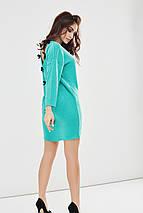 """Теплое ангоровое платье """"Battin"""" с рукавом летучая мышь и вырезом на спине (3 цвета), фото 3"""