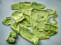 Летний набор для малыша салатовый, фото 1