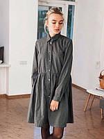 Стильное женское платье-рубашка