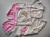 Подарочный набор для новорожденной Birds cat