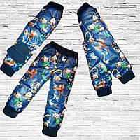 Теплые брюки на флисе для девочки с Бесплатной Доставкой