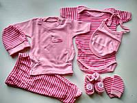 Подарочный комплект для новорожденной
