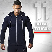 Спортивный костюм. Мужской Kiro tokao 156 т.синий-черный 46 размер