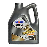 Масло MOBIL Super 3000    5W40 4 л (MOBIL)