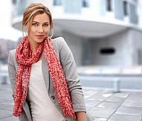 Яркий, воздушный шарф-шаль от тсм tchibo размер универсальный