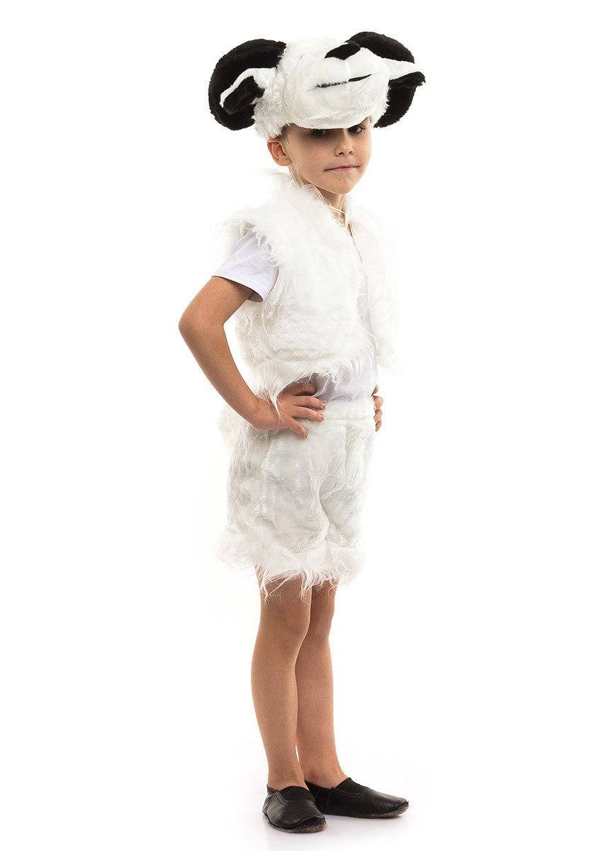 Дитячий карнавальний костюм Баран хутро (3-7 років)