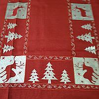 Салфетка столешница 120х60 рождественская