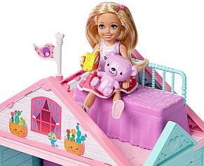 Барби Домик развлечений Челси Barbie с лифтом Barbie Club Chelsea Playhouse, фото 2