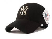 Качественные осенне-зимние бейсболки New York