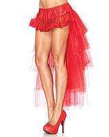 Фатиновая красная юбка (ESM4258)