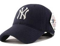 Качественные осенне-зимние бейсболки New York, фото 1