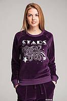 Джемпер женский Велюровый KIFA (ДЖ-555/1) Фиолетовый