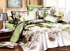 Двуспальный набор постельного белья 180*220 из Полиэстера №237 Черешенка™