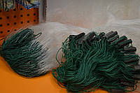 Рыболовная сеть,5х100,трехстенка,груз вшитый 50 до100