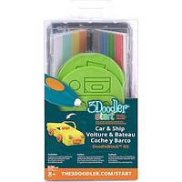 Набор аксессуаров для 3D-ручки 3Doodler Start - ТРАНСПОРТ (48 стержней, 2 шаблона)
