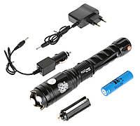 Электрошокер Оса 1203 Police / BL-1203 / LDL-X4 Police Flashlight. Шокер 3 режима освещения, отбойник
