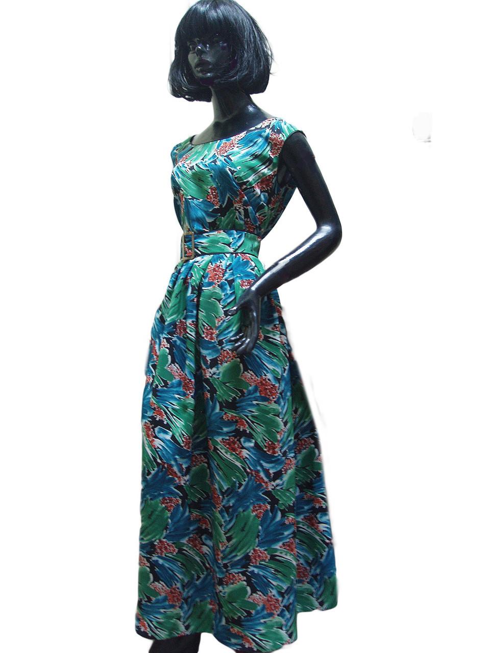 Платье шёлковое с юбкой в складу Арт.1116 р.44