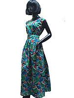 Платье шёлковое с юбкой в складу Арт.1116