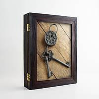 Ключница Подарок (настенная, эко-пластик) КЛЮЧИ АНТИКВАРИАТ