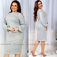Платье  (L-XL, XL-XXL) — ангора-софт купить оптом и в розницу в одессе  7км