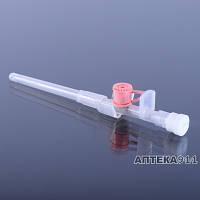 Канюля внутривенная с инъекционным клапаном размер G24 желтая Medicare
