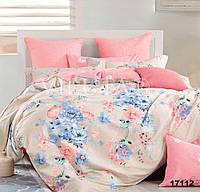 Двуспальное постельное белье хлопковое 17112 Вилюта