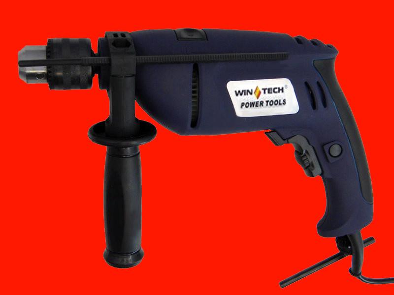 Ударная дрель на 810 Ватт Wintech WID-810B 2 подшипника
