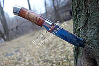 Нож охотничий одинокий волк