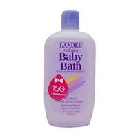 Детская успокаивающая пенка для ванн Lander (Calming Baby Bath), 444 мл.