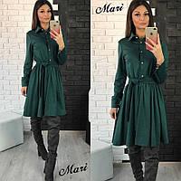 Платье - рубашка из трикотажа тв-12013-5
