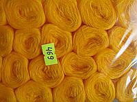 Нитки акриловые цвет желтый 469