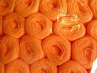 Нитки акриловые цвет насыщенно оранжевый