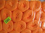Нитки акриловые цвет насыщенно оранжевый, фото 2