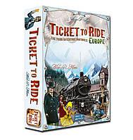 """Настольная игра """"Ticket to ride: europe"""" Билет на поезд"""