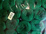Нитки акриловые цвет насыщенно зеленый 5168, фото 2