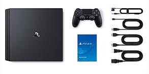 Игровая приставка SONY PS4 Pro 1TB Black, фото 3