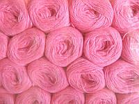 Нитки акриловые цвет насыщенно ярко розовый 2020