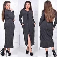 Платье (46-48, 50-52, 54-56, 56-58) —   Ангора купить оптом и в розницу в одессе  7км