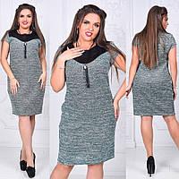 Платье (48,50,52,54,56) — букле купить оптом и в розницу в одессе  7км