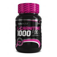 Жиросжигатель BioTech L-Carnitine 1000 mg 30 tab