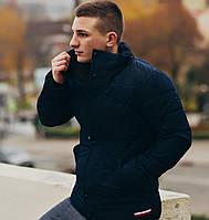 Зимняя куртка / парка / мужская / синяя