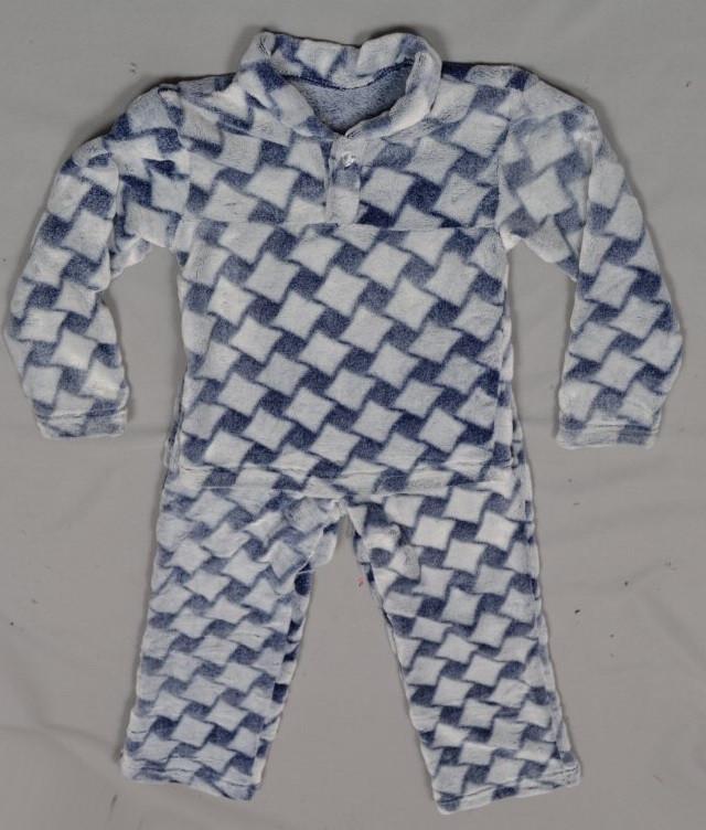 Детская пижама домашний комплект унисекс махровая зимняя теплая велсофт мягкая