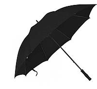 Зонт трость антишторм 133 см Black