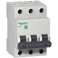Автоматический выключатель 3P 10A (C) 4.5kA SE Easy9