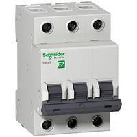 Автоматический выключатель 3P 6A (C) 4.5kA SE Easy9