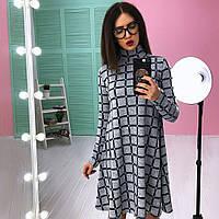 Платье (42-44) —трикотаж Ангора купить оптом и в розницу в одессе  7км
