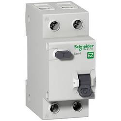 Дифференциальный автоматический выключатель 1P+N 10А (C) 30mA тип AC SE Easy9